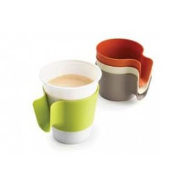 Plastic Cup Holder PP Lime Green (96 Units)