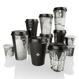 "Paper Cup ""Parisian"" 6 Oz/180ml Ø7,9cm (1000 Units)"