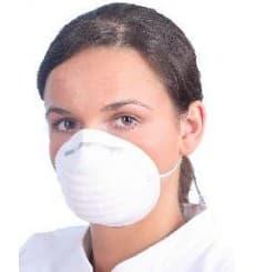Disposable Dust Mask PP White (50 Units)