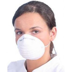 Disposable Dust Mask PP White (1000 Units)
