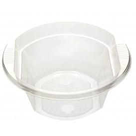 Plastic Bowl PS Crystal 630ml Ø16cm (10 Units)