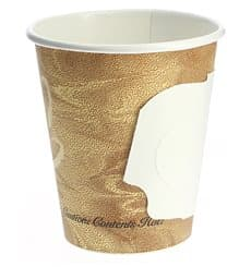 "Paper Cup with Handle ""Mistique"" 6 Oz/180ml Ø7,4cm (1000 Units)"