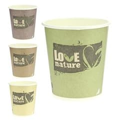 "Paper Cup PLA Vending ""BioWare"" 6Oz/192ml Ø7,0cm (100 Units)"