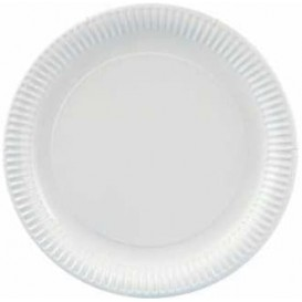 Paper Plate Round Shape White 23cm 600g/m2 (500 Units)