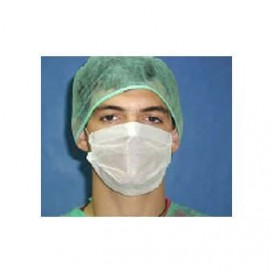 Disposable Surgical Mask Triple Layer White (50 Units)