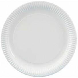 Paper Plate Round Shape White 32cm (250 Units)