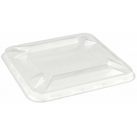 Plastic Lid for Mini-Bowl PET 9x9cm (50 Units)