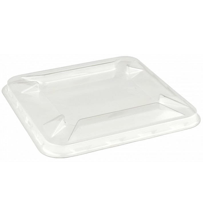 Plastic Lid for Mini-Bowl PET 9x9cm (300 Units)