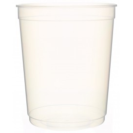 Plastic Deli Container PP Clear 1000 ml Ø11,5cm (250 Units)