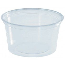 Plastic Souffle Cup PS Clear 80ml Ø7cm (3000 Units)