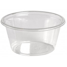 Plastic Souffle Cup rPET Clear 60ml Ø6,2cm (250 Units)
