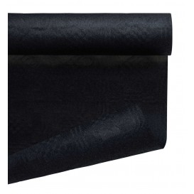 Paper Tablecloth Roll Black 1,2x7m (25 Units)