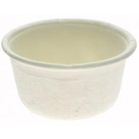 Sugarcane Container White Ø6,2cm 60ml (250 Units)