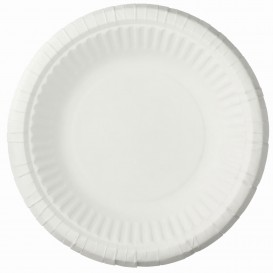 Paper Plate Deep White 19cm (1000 Units)