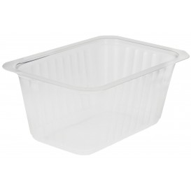 Plastic Deli Container PP Heat Sealable 500ml (1200 Units)