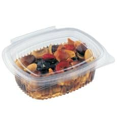 Plastic Hinged Deli Container OPS 375ml (60 Units)