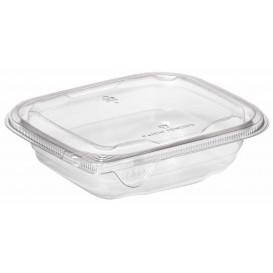 Plastic Deli Container PET Tamper-Evident 500ml 14x12x5cm (84 Units)