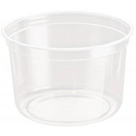 "Plastic Deli Container rPET ""DeliGourmet"" 16 Oz/473ml (50 Units)"