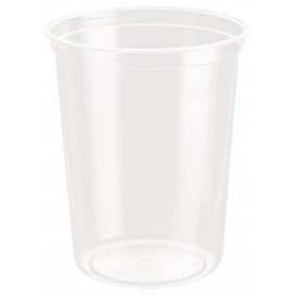 "Plastic Deli Container rPET ""DeliGourmet"" 32 Oz/946ml (50 Units)"