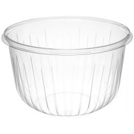 "Plastic Salad Bowl PET ""PresentaBowls"" Clear 1895ml Ø18,3cm (252 Units)"