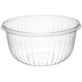 "Plastic Salad Bowl PET ""PresentaBowls"" Clear 1420ml Ø18,3cm (252 Units)"