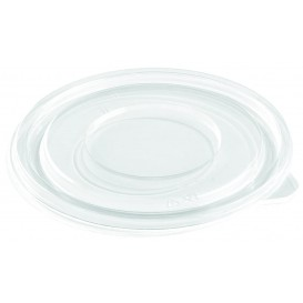 Plastic Lid for Bowl PET Flat Ø14cm (50 Units)