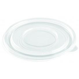 Plastic Lid for Bowl PET Flat Ø26cm (25 Units)