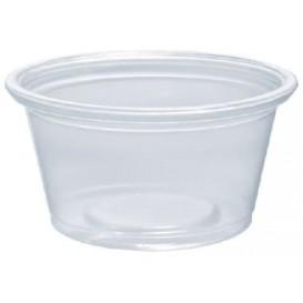 Plastic Souffle Cup PP Clear 25ml Ø4,8cm (125 Units)