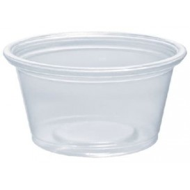 Plastic Souffle Cup PP Clear 25ml Ø4,8cm (2500 Units)