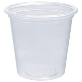 Plastic Souffle Cup PP Clear Graduated 35ml Ø4,8cm (2500 Units)