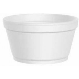 Foam Container White 12 Oz/355ml Ø11,7cm (25 Units)