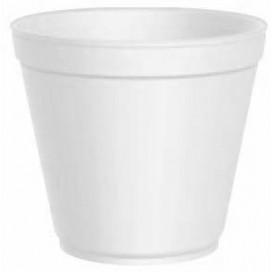 Foam Container White 20 Oz/600ml Ø11,7cm (25 Units)