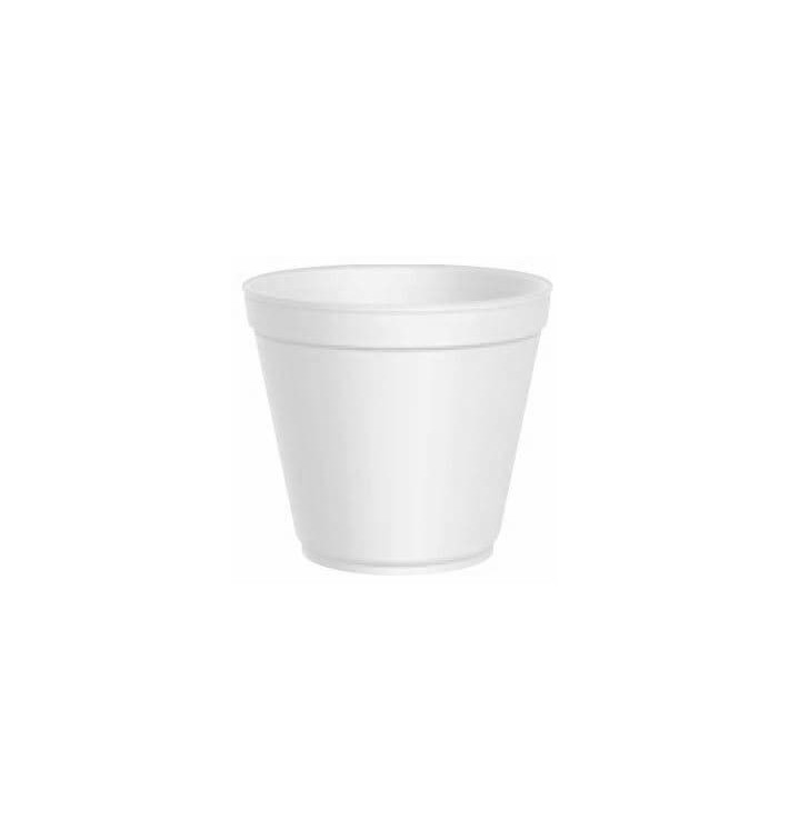 Foam Container White 20 Oz/600ml Ø11,7cm (25 Units)