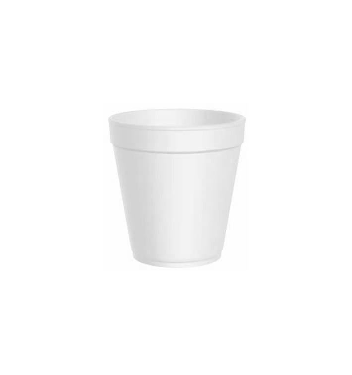 Foam Container White 24 Oz/710ml Ø11,7cm (25 Units)