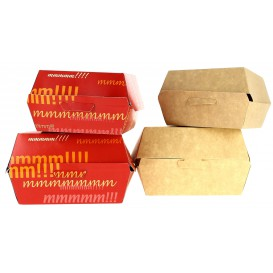 Paper Burger Box XXL 14,5x14,5x8cm (400 Units)