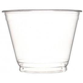 Plastic Container PET Crystal 270ml Ø9,3cm (50 Units)