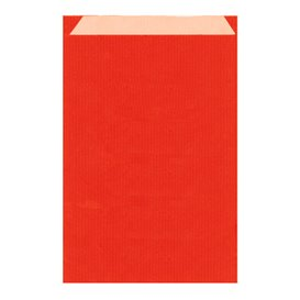 Paper Envelope Kraft Red 19+8x35cm (125 Units)