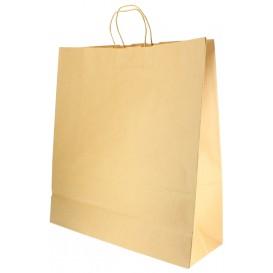 Paper Bag with Handles Kraft 100g 46+16x49cm (200 Units)