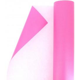 Paper Roll of Gift Wrap Cellulose Fuchsia 100m (1 Unit)