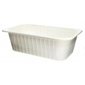 Plastic Tray PP Heat Sealable GS 1/4 24x13,6x8cm (220 Units)