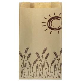 """Paper Food Bag """"Espigas"""" 14+7x24cm (1000 Units)"""