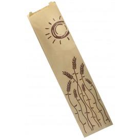 """Paper Food Bag """"Espigas"""" 12+6x50cm (100 Units)"""