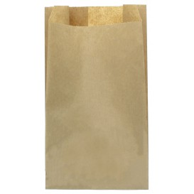 Paper Food Bag Kraft 12+6x20cm (250 Units)