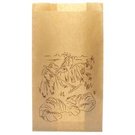 "Paper Food Bag Kraft ""Siega"" 18+7x32cm (1000 Units)"