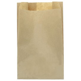 Paper Food Bag Kraft 22+12x36cm (100 Units)