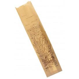"Paper Food Bag ""Siega"" Kraft 12+6x50cm (1000 Units)"