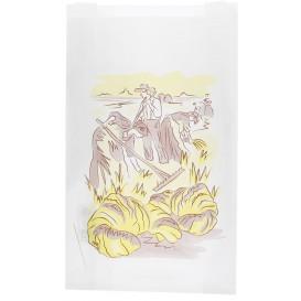 "Paper Food Bag ""Siega"" 22+7x36cm (1000 Units)"