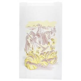 "Paper Food Bag ""Siega"" 12+6x20cm (250 Units)"