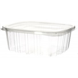 Plastic Hinged Deli Container OPS 750 ml (600 Units)