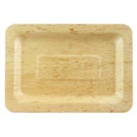 Bamboo Tray 20x14x1cm (10 Units)
